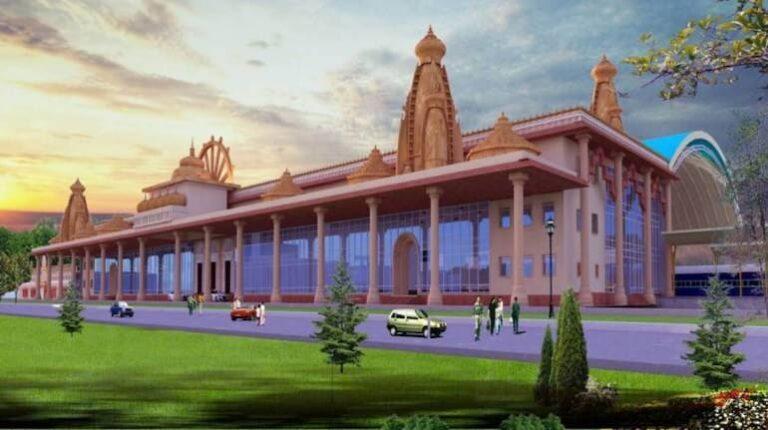 রাম মন্দিরের আদলেই হবে অযোধ্যা ষ্টেশন, দেখুন ষ্টেশনের নতুন মডেল